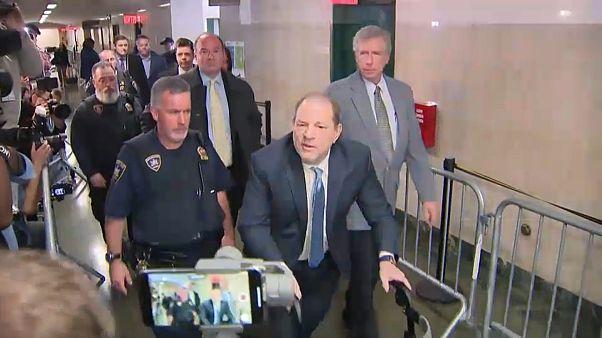 Harvey Weinstein declarado culpable de una agresión sexual y una violación
