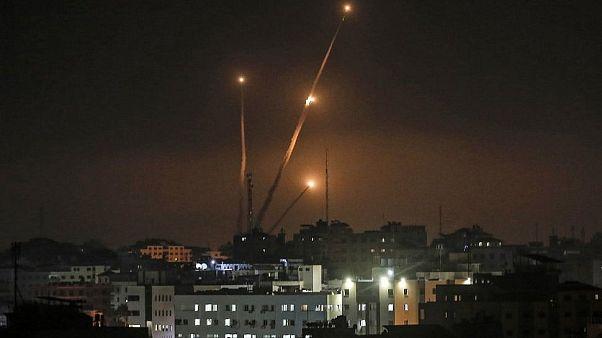 Gazze'den atılan roketler