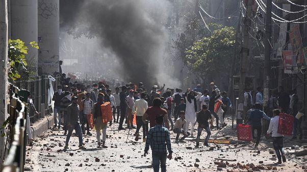 Hindistan'daki gösteriler