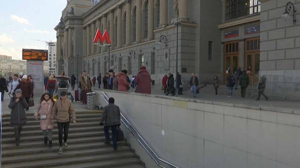 Auch in der Moskauer U-Bahn wird nach chinesischen Staatsbürgern gefahndet.