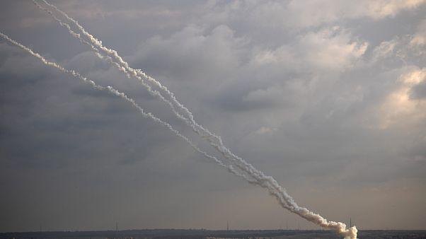 حملات راکتی از نوار غزه به اسرائیل