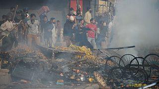 شورش و درگیریهای فرقهای در دهلی همزمان با سفر ترامپ به هند؛ ۱۳ نفر کشته شدند