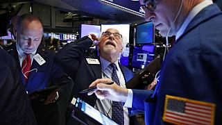 Monday was not a good day on Wall Street