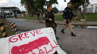 Brezilya'nın Ceara eyaletinde polis greve gitti, 5 günde yaklaşık 150 cinayet işlendi