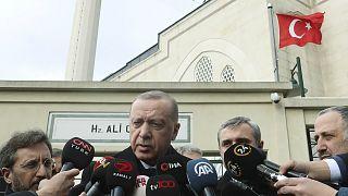 الرئيس التركي إردوغان يعلن مقتل جنديين تركيين في ليبيا