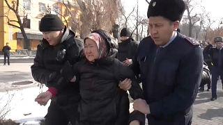Антиправительственные митинги и задержания в Казахстане
