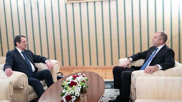 Συνάντηση του Προέδρου της Κυπριακής Δημοκρατίας κ. Νίκου Αναστασιάδη με τον  Πρόεδρο της Βουλγαρίας κ. Rumen Radev
