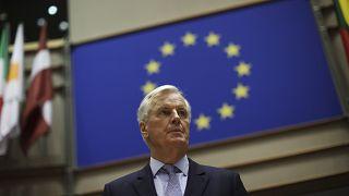 Le négociateur en chef de l'UE Michel Barnier