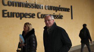 Ο διαπραγματευτής της ΕΕ, Μισέλ Μπαρνιέ