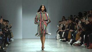 Un nigeriano abre la Semana de la Moda en  París