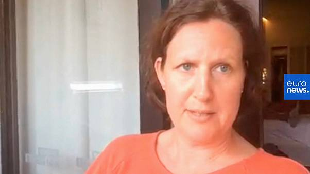 Harriet, a Swedish tourist staying at the hotel in Tenerife under lockdown over COVID-19 coronavirus