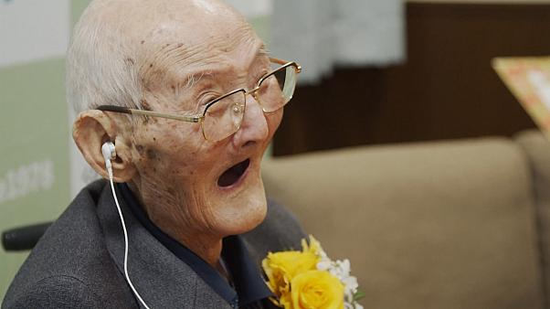 Centenarian recognised as world's oldest living man dies aged 112