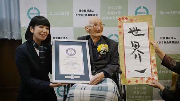В Японии умер старейший мужчина на Земле