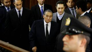 Mubarak vor Gericht in Kairo, 2018