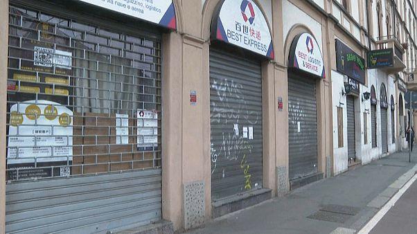 Coronavírus paralisa Milão