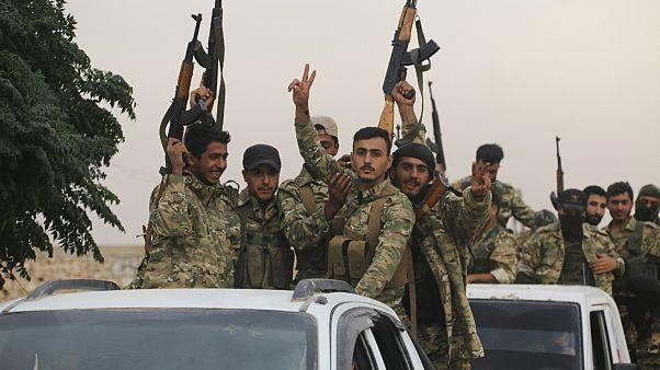 ارتش آزاد سوریه تحت حمایت ترکیه