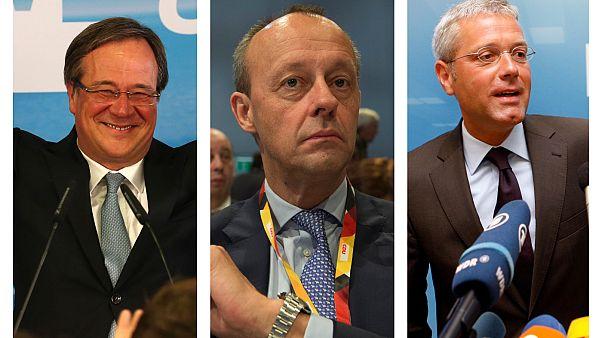 Εκλογές στο CDU: Τρεις άνδρες για μία καρέκλα