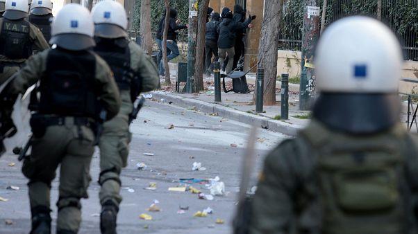 Επεισόδια εστην οδό Πατησίων έξω από την ΑΣΟΕΕ, ΠΑΝΤΕΛΗΣ ΣΑΪΤΑΣ