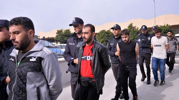 Ankara'da IŞİD'e yönelik operasyonda 10 zanlıdan 9'u yakalandı
