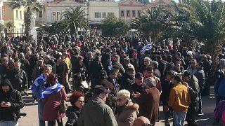 Γενική απεργία στα νησιά του βορείου Αιγαίου- Κορυφώνονται οι αντιδράσεις για τις κλειστές δομές