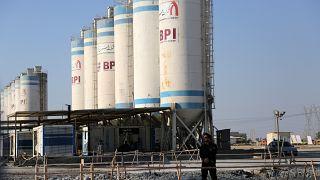 İran'da bir nükleer tesis