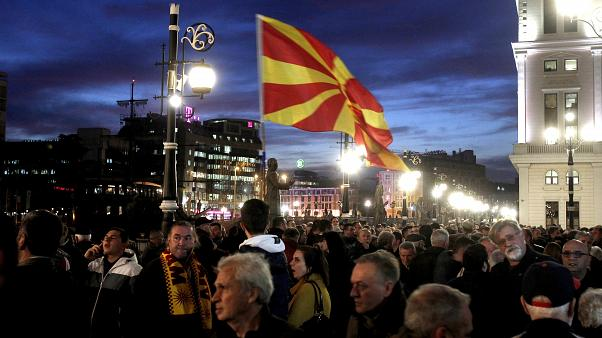 Διαδήλωση του VMRO στα Σκόπια