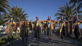 Carnaval de Nice sem medo do covid-19