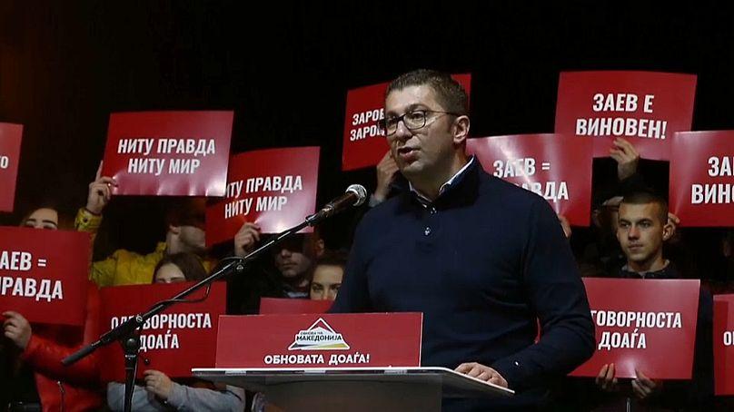 leader del partito VMRO-DPMNE