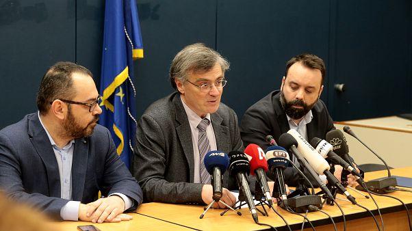 Ο εκπρόσωπος του Υπουργείου Υγείας, καθηγητής Λοιμωξιολογίας, Σωτήρης Τσιόδρας