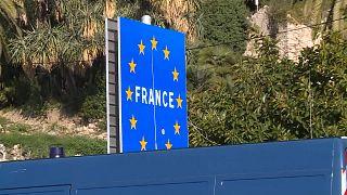 حدود مشتركة بين فرنسا وإيطاليا