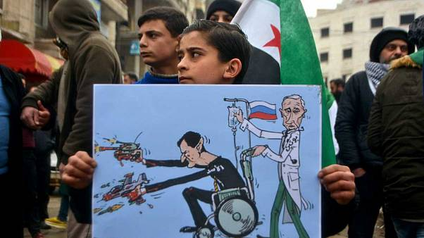 Fotoğraflarla 'modern' bir insanlık dramı: İdlib'den kaçış