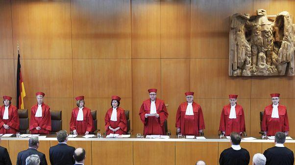 """Almanya'da """"yardımlı intihar"""" kararını veren mahkeme üyeleri"""