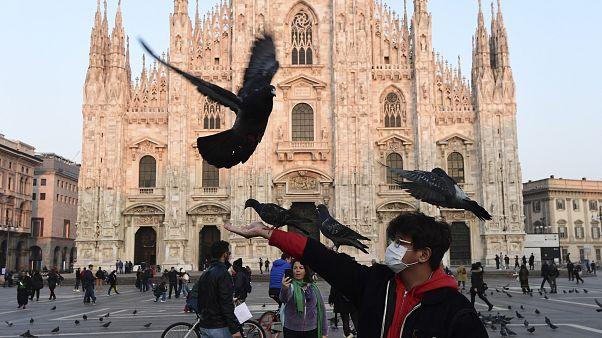Fotoğraflarla Çin dışına yayılan Covid-19 salgını: Dünyadan koronavirüs kaygısına dair kareler