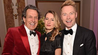 Stephen Webster, Amy Webster and Ronan Keating attend the Positive Luxury Awards 2020
