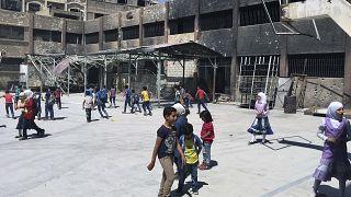 تعليق التعليم في مدينة إدلب ومحيطها غداة استهداف مدارس
