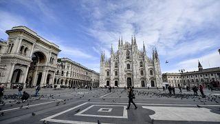 Surto de coronavírus afeta turismo em Itália