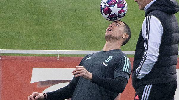 Gol del fútbol al coronavirus: el partido Lyon-Juventus no se cancela