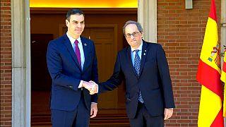 Primera reunión de la 'mesa de diálogo' entre Gobierno e independentistas catalanes