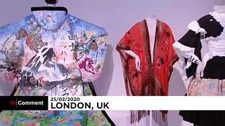 A kimonókról nyílt kiállítás Londonban