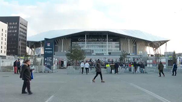 El Olympique de Lyon gana a la Juventus bajo la sombra del coronavirus