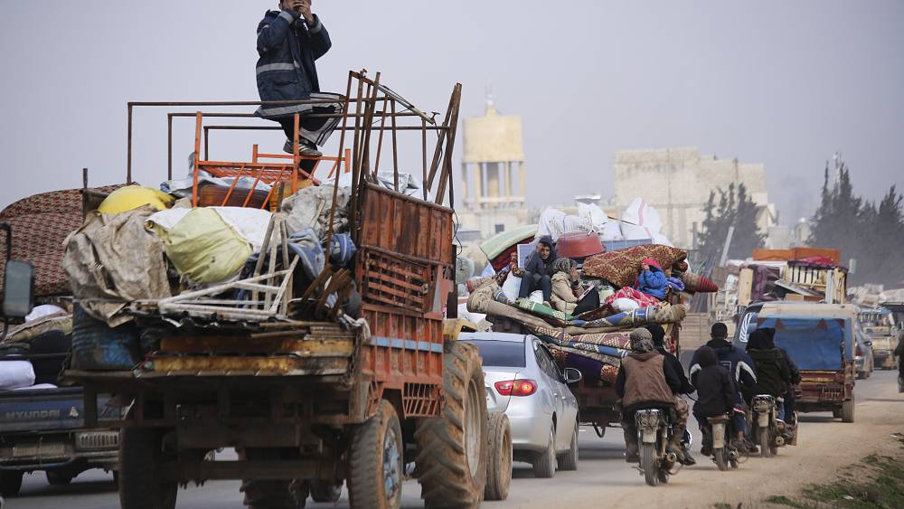 """""""Los civiles aquí en el noroeste de Siria tienen derecho a vivir"""", dice el voluntario de White Helmets 35"""