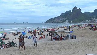 Coronavírus não assusta turistas de férias no Brasil