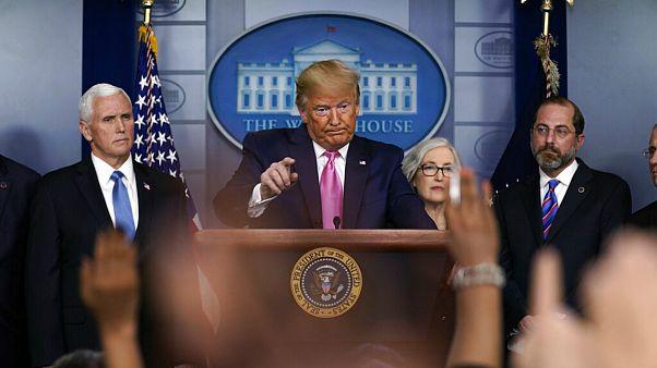 ترامپ: احتمال شیوع گسترده کرونا در آمریکا بسیار ضعیف است
