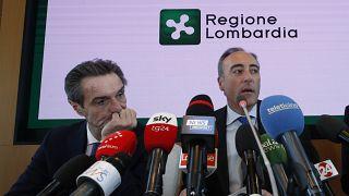Covid-19 : le président de Lombardie se masque