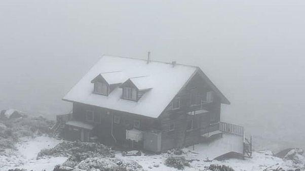 Ausztrál nyár: havazott Tasmaniában