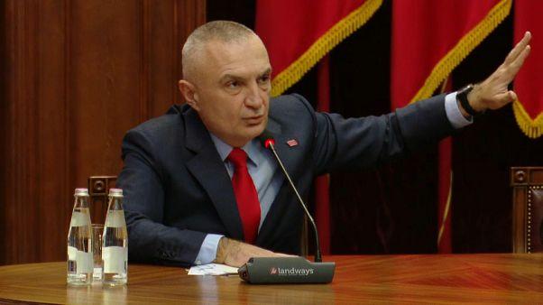 El presidente de Albania promueve una manifestación ciudadana contra el Gobierno de Edi Rama