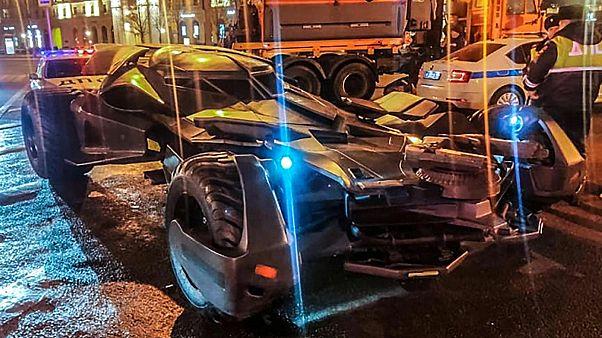 A Moszkvában lefoglalt Batmobile
