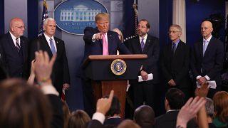 ABD Başkanı Trump basın toplantısında gazetecilerin sorularını yanıtladı