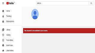 KHK TV Youtube sayfası