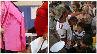 ABD'de obezite sorunu artarken Venezuela'da halkın üçte birinin karnı doymuyor